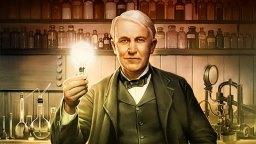 American inventor Thomas Edison