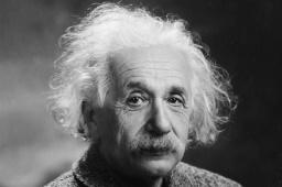 Physicist Albert Einstein