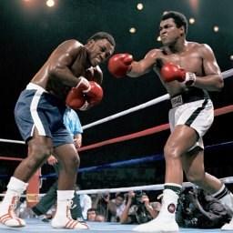 Heavyweight boxing Muhammad Ali