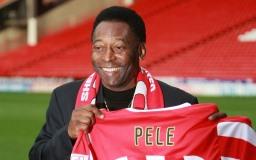 Famous football player Pelé