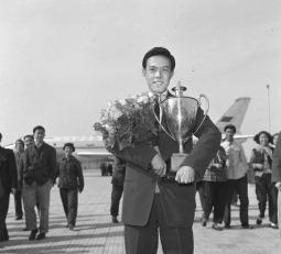 Table tennis champion Rong Guotuan
