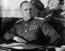Soviet Marshal Georgi Konstantinovich Zhukov