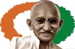 Mohandas Karamchand Gandhi (Desktop wallpaper 5)