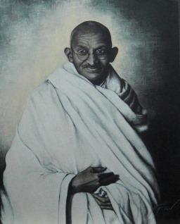 Mohandas Karamchand Gandhi (Desktop wallpaper 7)